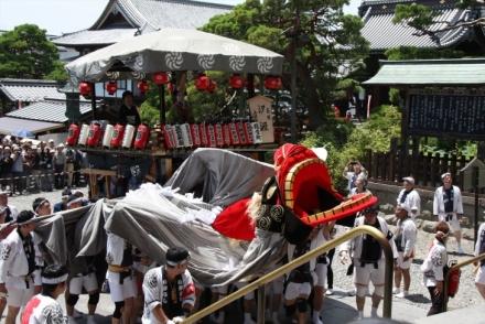 ながの祇園祭御祭礼屋台巡行