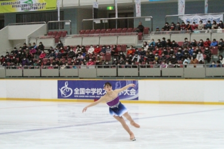 第38回全国中学校スケート大会(フィギュアスケートの部)